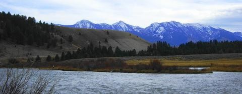 Section of the Madison River: Yellowstone Park to Bozeman