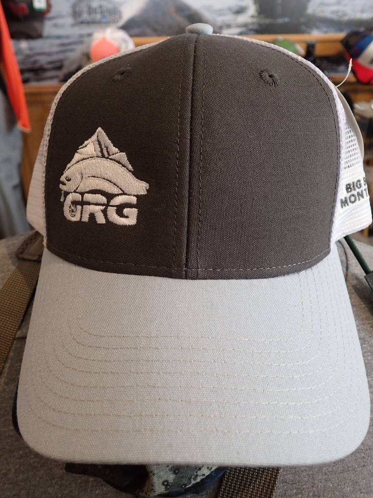 Ouray Sportswear GRG Industrial Mesh Cap Grey/White/Blue Steel