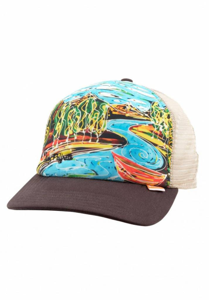 Simms Fishing Products SIMMS DRIPPING TREES ARTIST TRUCKER BARK