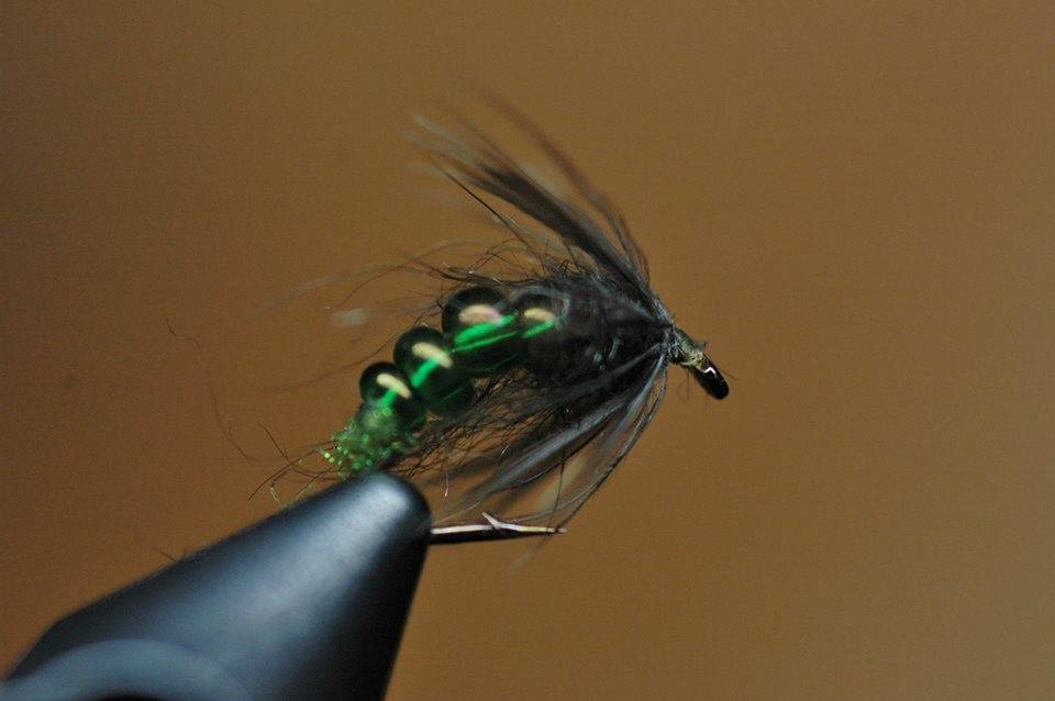 Wednesday Night Fly Tying...Soft Hackle Glass Bead Caddis Pupa with YouTube video