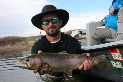 "From Mines to Mayflies.  Montana Fishing Guide School ""Corey Mason"""