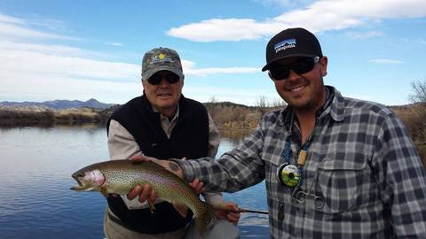 "From Oilman to Oarsman.  Montana Fishing Guide School ""Tyson Nunley"""