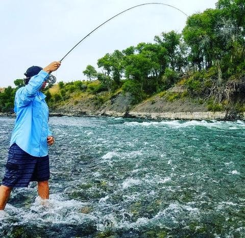 "Montana Fishing Guide School ""Garret Kemberling"""