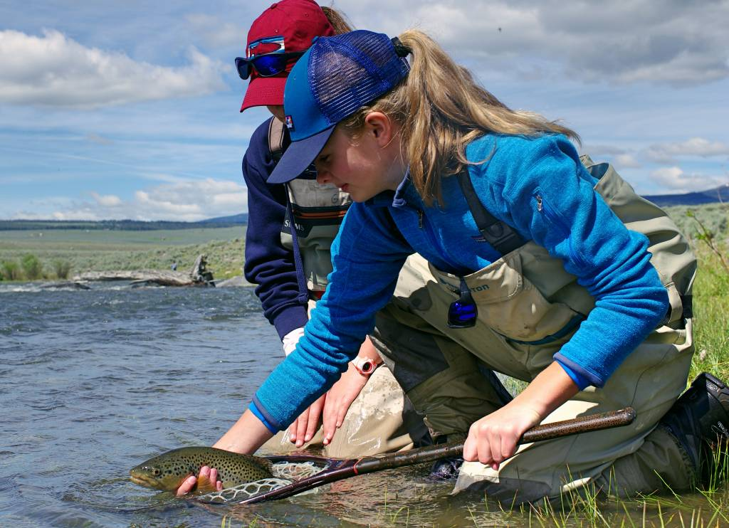 Women's Fly Fishing and Yoga Hits The Big Sky State