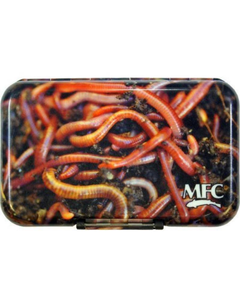 Montana Fly Company MFC Fly Box Poly - Dirty Worm