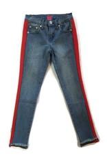 Pinc Premium Jeans W/ Stripe Vintage/Red