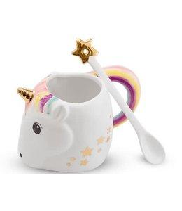 Two's Company TC Unicorn Mug