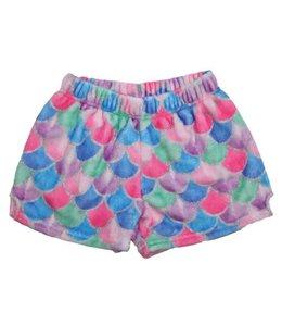 iScream Iscream Fuzzy Mermaid Shorts