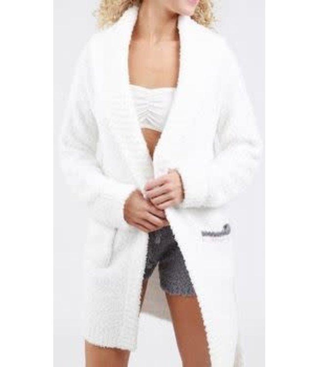 POL Fleece Robe Snow White