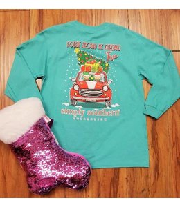 Simply Southern Simply Southrern L/S Elf Shirt Aruba