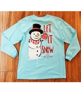 Simply Southern Simply Southern L/S Snow Shirt Marine