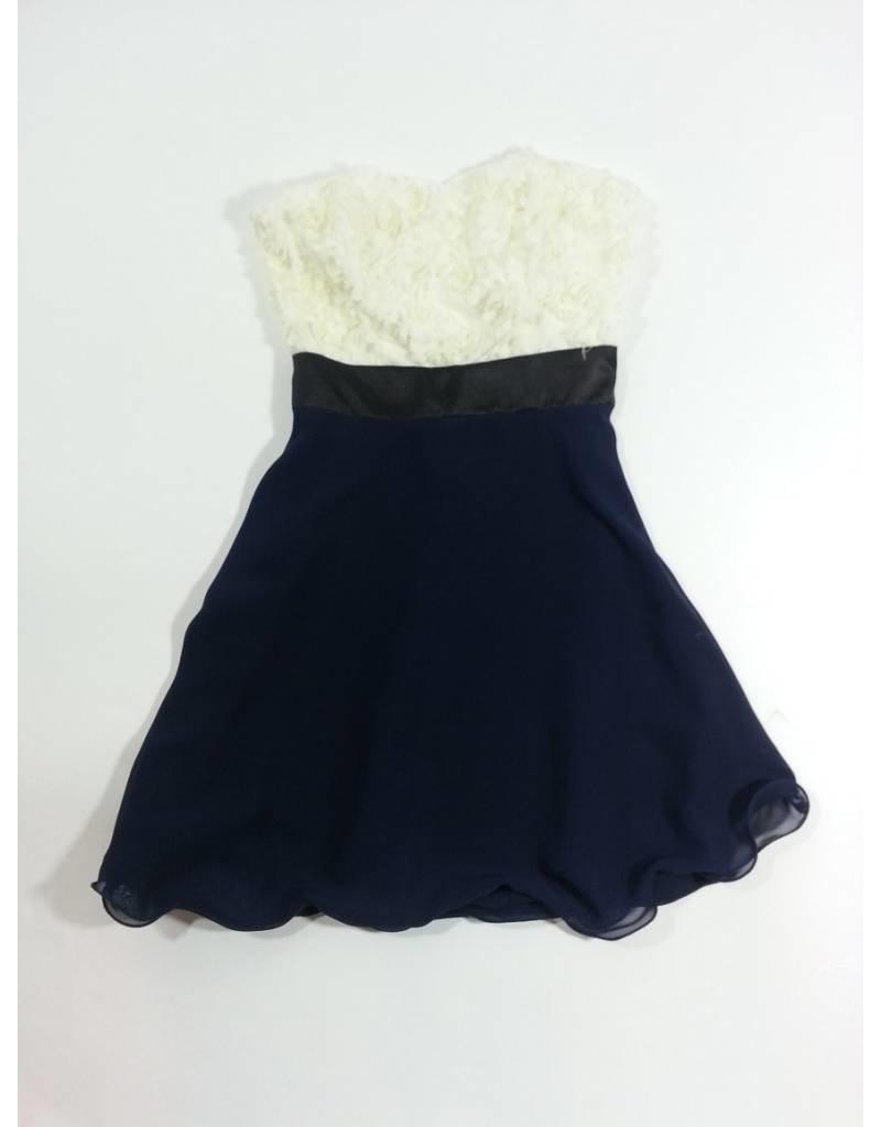 Un Deux Trois Floral Dress Ivy/Navy