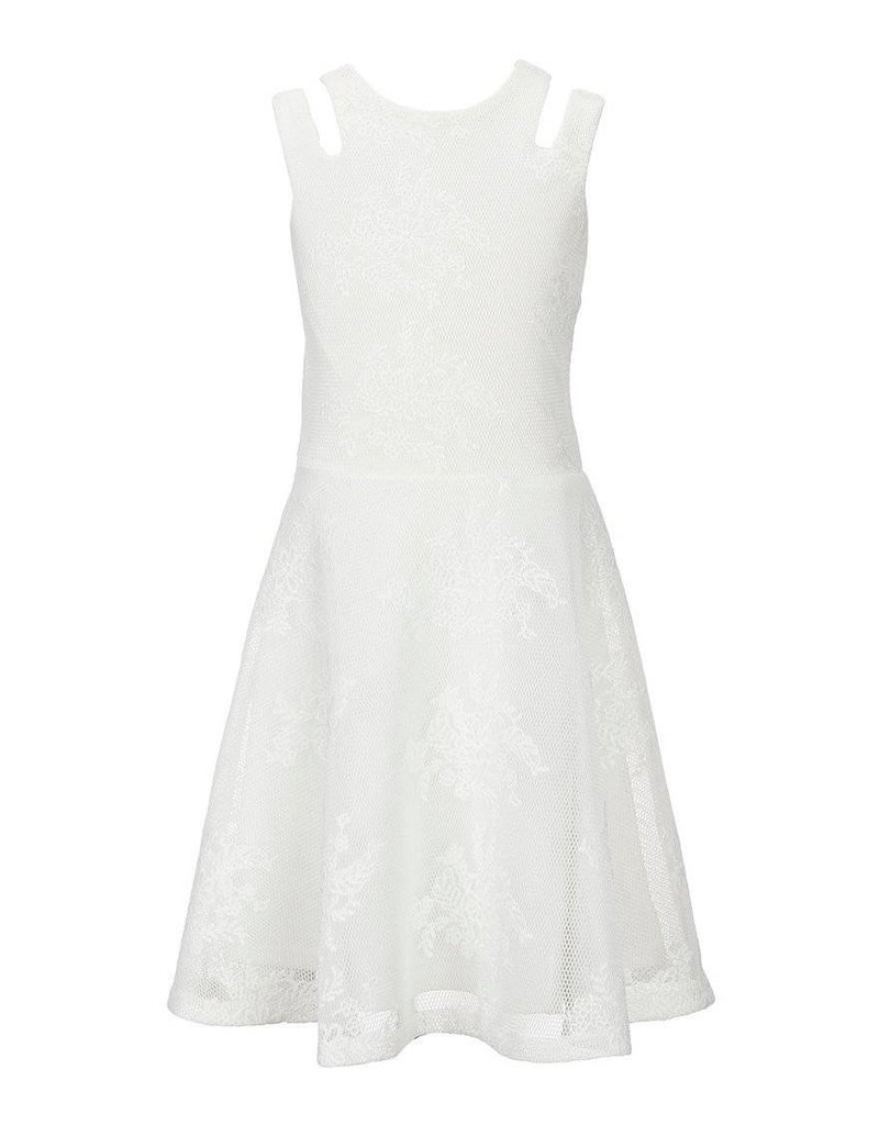Miss Behave Miss Behave Adrianna Dress White