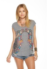Chaser Decorated Camels Tank Grey/Multi