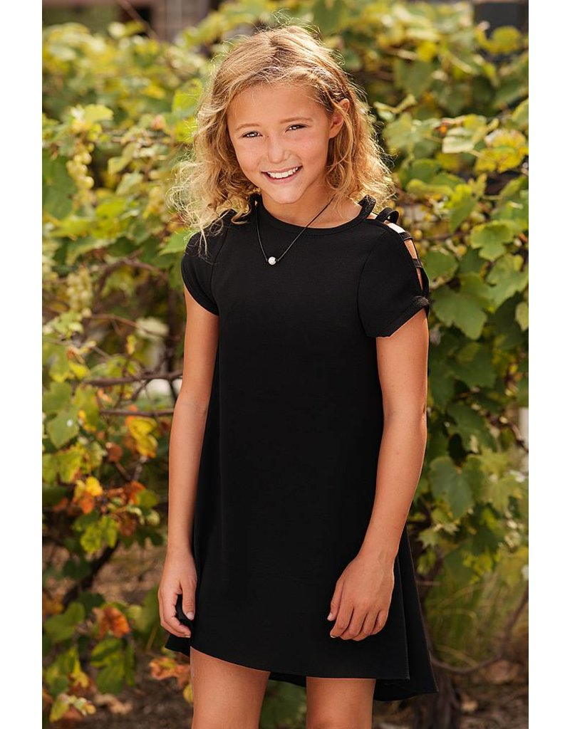 8f7076aea78e4 Black Aubrey Dress by Sally Miller - Fresh Boutique 4 Girls