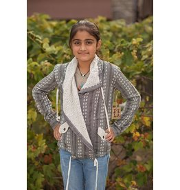 PPLA Tween PPLA Tai Jacket Grey/Cream