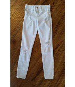 Pinc Premium Distressed Skinny Jeans White