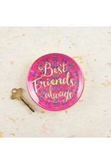 Natural Life Natural Life Glass Tray Best Friends Always