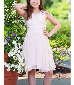 Kiddo Kiddo Dresss W/ Split Sides