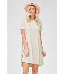 American Chic Oatmeal S/S Dress