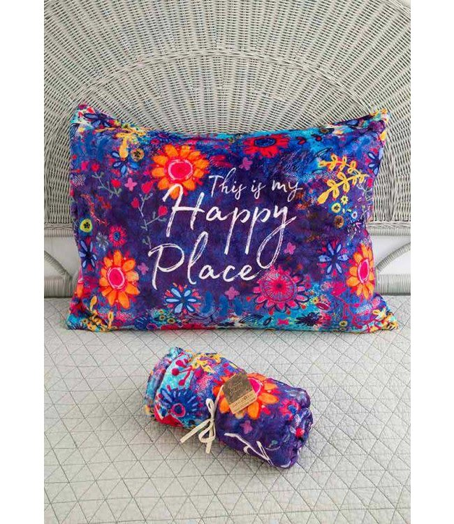 Natural Life Natural Life Happy Place Pillow Sham