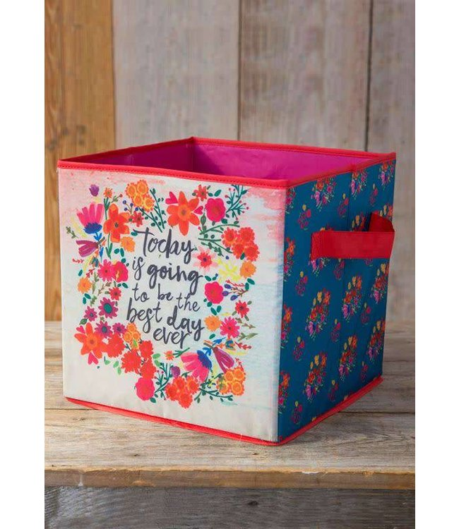 Natural Life Natural Life Best Day Ever Storage Bin