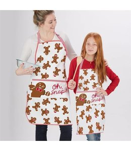 Two's Company TC Gingerbread Aprons (Set Of 2)