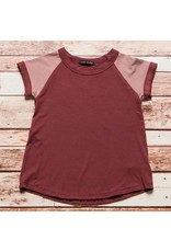 Fashion Go Block Ringer Raglan Tee