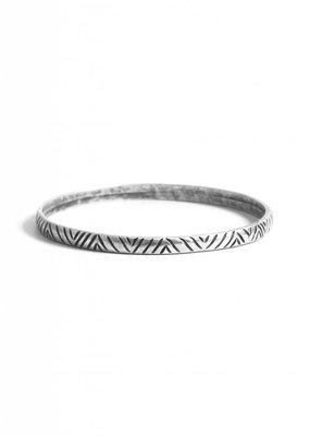 Turkish Silver Ayse Bangle