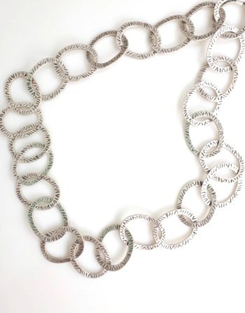 Turkish Silver Tamar Necklace