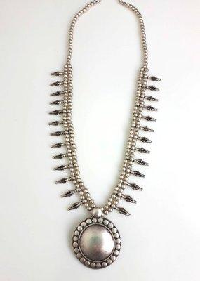 Turkish Silver Shira Necklace
