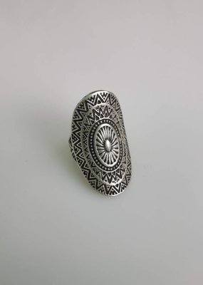 Turkish Silver Daya Ring