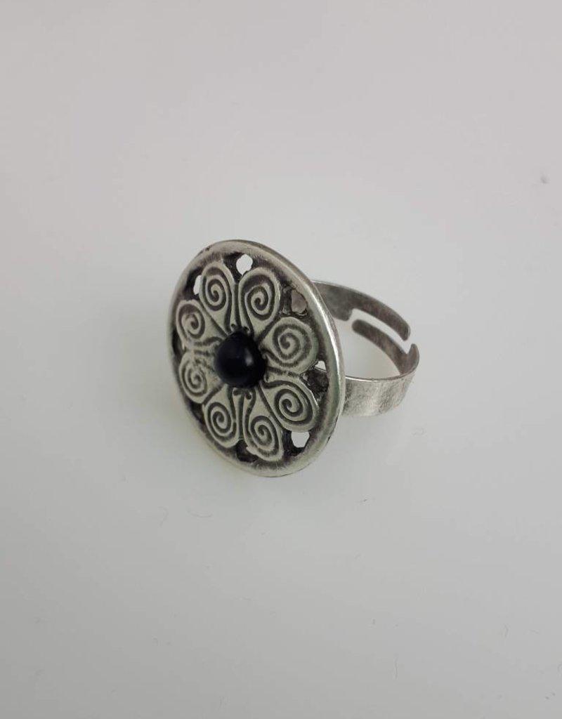 Turkish Silver Lia Ring