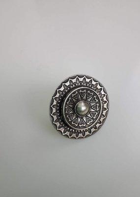 Turkish Silver Ayah Ring