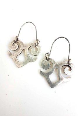 Turkish Silver Turkish Silver Delfine Earring