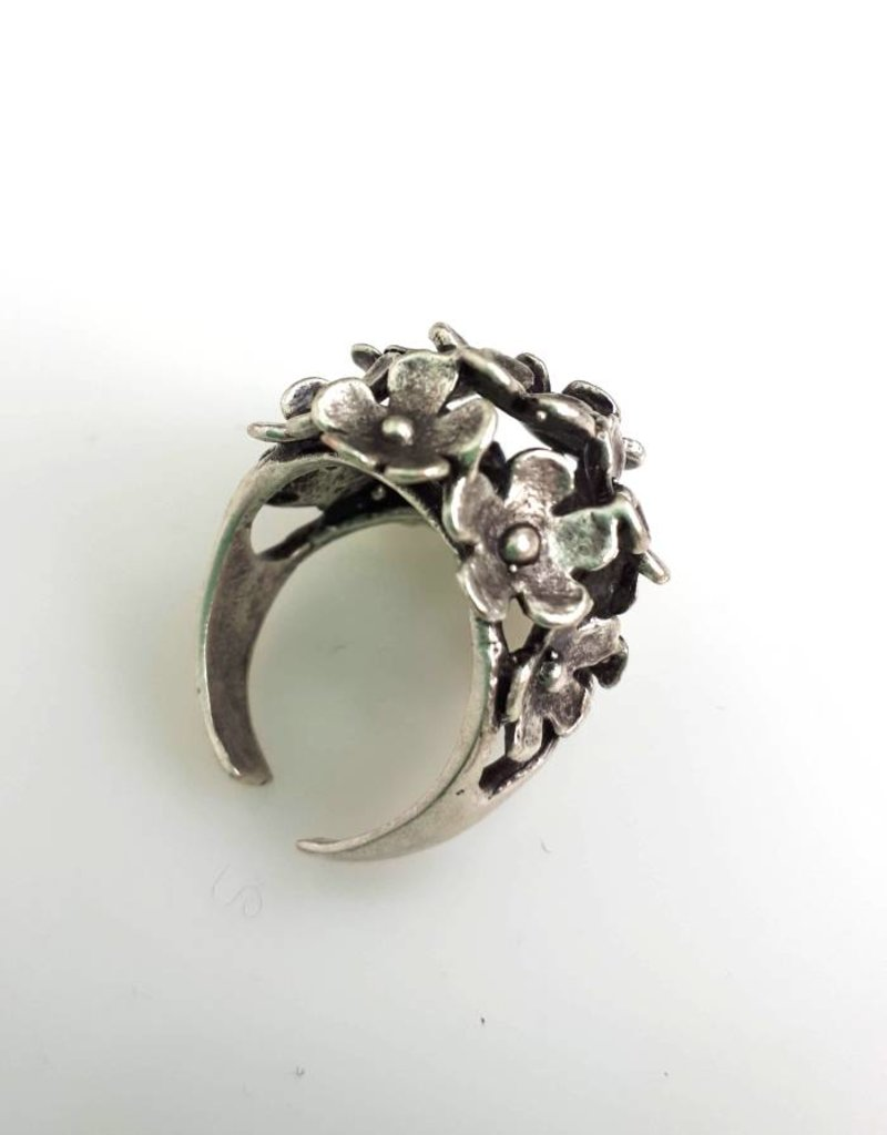 Turkish Silver Ishra Ring