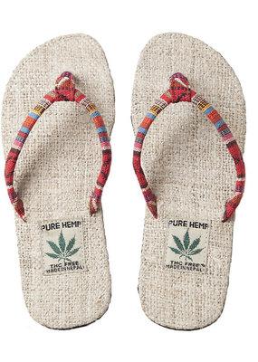 Ark Imports Women's Hemp Flip Flops