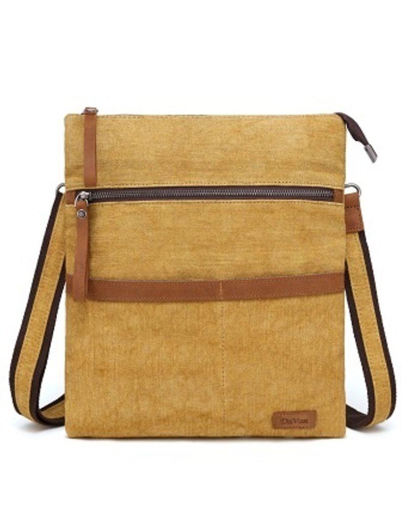 DaVan Cotton Linen Shoulder Bag/Purse