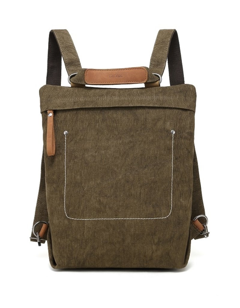 DaVan Cotton/Linen Backpack
