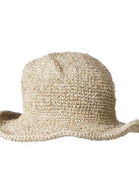 Ark Imports Crochet Hemp Sun Hat- Natural