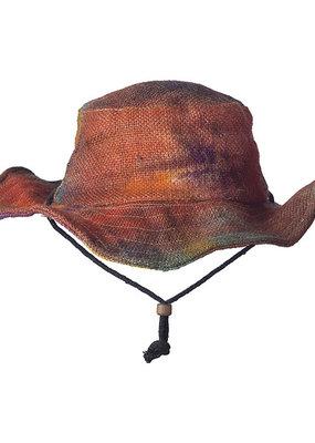 Ark Imports Jute Sun Hat- Tie Dye