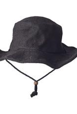 Ark Imports Jute Sun Hat- Black