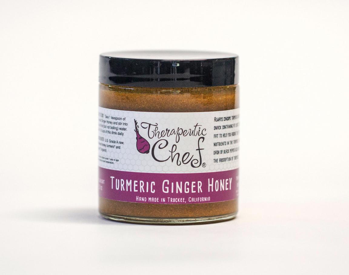 turmeric ginger honey tea
