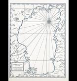 'Lake Tahoe' map print