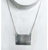 reflections  necklace