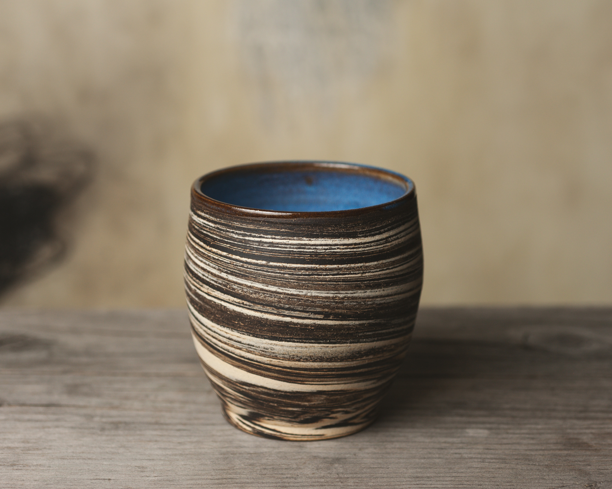 Black clay Sierra cup