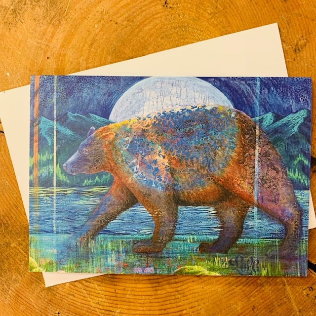 Spirit Bear card pack of 5