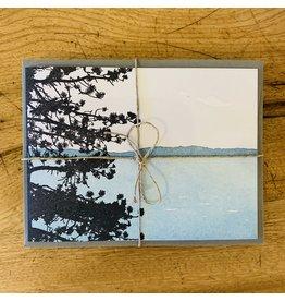 Letter Press Cards-5 pack