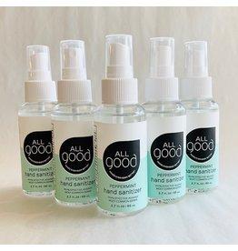 Peppermint Hand Sanitizer Spray