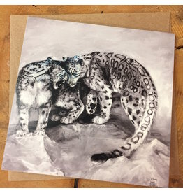 Snow Leopards card